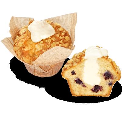 Muffin − borovnica i cheesecake